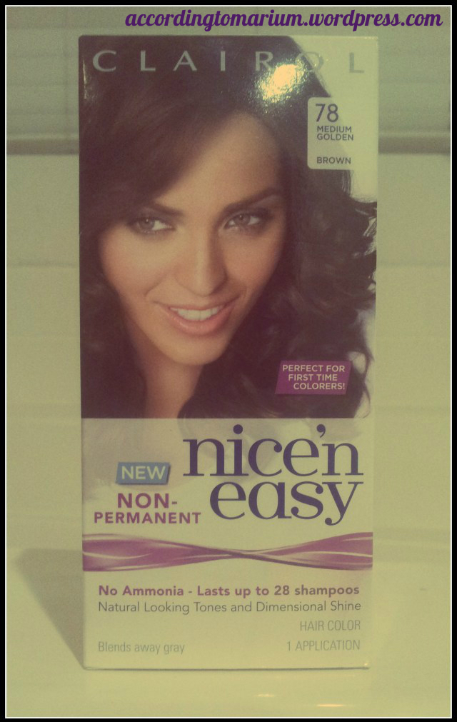 Product Review Clairol Nice N Easy Non Permanent Hair Color