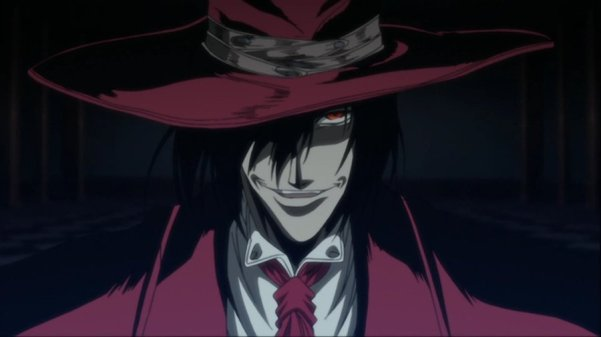 My Top 5 Anime Vampires – According to Marium Count Alucard Hellsing Ova