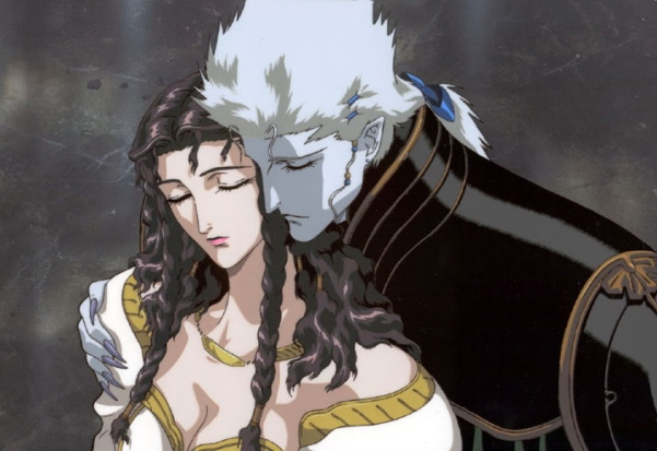 Link Meier from Vampire Hunter D Bloodlust. Dude's a perfect example of a gentlemanly lady killer.